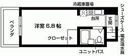 加島ハイツ[201号室号室]の間取り