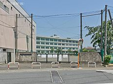 町田市立町田第二中学校 距離650m
