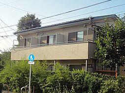 土方コーポ[2階]の外観
