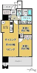 MJR赤坂タワー[2階]の間取り