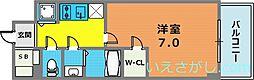 エスリード神戸三宮ラグジェ[14階]の間取り