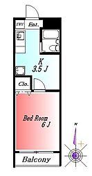 グレイス桜木[3階]の間取り