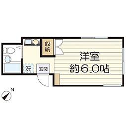 ドルフ三田II[103号室]の間取り