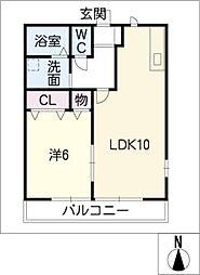 武路ハイツ[2階]の間取り