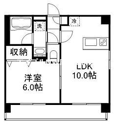 エスプリ-M[3階]の間取り