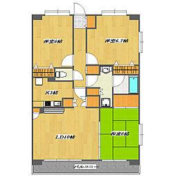 KW Residence〜NISHIKASAI〜[1階]の間取り