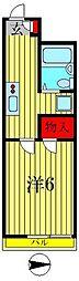 アルカディア[2階]の間取り
