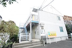 神奈川県大和市西鶴間4丁目の賃貸アパートの外観
