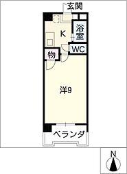 ピュアグリーン高社[2階]の間取り