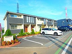 埼玉県北本市中丸6丁目の賃貸アパートの外観