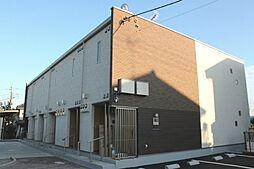 東京都あきる野市下代継の賃貸アパートの外観