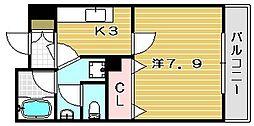 ネオパレス南茨木[6階]の間取り