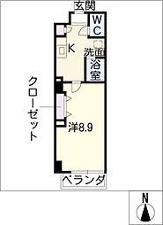 エクセレントガーデン60[2階]の間取り