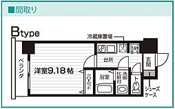 Nasic仙台東口[606号室号室]の間取り