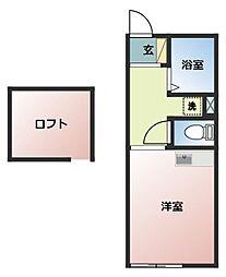 イル・ソーレ桜ヶ丘[102号室号室]の間取り