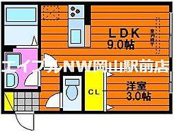 D maison 津島[2階]の間取り