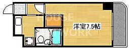 京都府京都市南区吉祥院池ノ内町の賃貸マンションの間取り