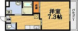グランジュネス[4階]の間取り