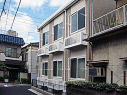 東京都荒川区西日暮里1丁目の賃貸アパートの外観