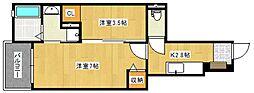 ベリーデT[105号室号室]の間取り