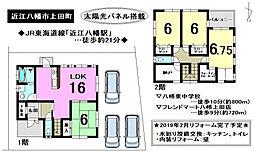 太陽光パネルが搭載されたお家 / 近江八幡市上田町 4SLDKの間取り