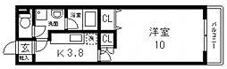 ロータスコートIII[103号室号室]の間取り