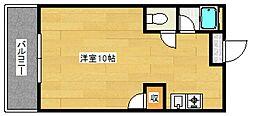 大洋建設本社ビル[4階]の間取り