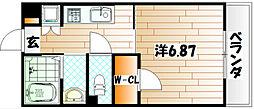 飛幡ブレイン[3階]の間取り