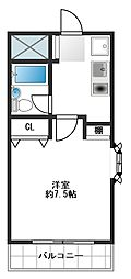 東京都練馬区豊玉中1丁目の賃貸マンションの間取り