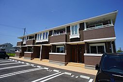 福岡県遠賀郡水巻町伊左座5丁目の賃貸アパートの外観