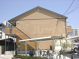 京都府京都市右京区西京極畔勝町の賃貸アパートの外観