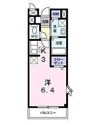 ハイツ・21[1階]の間取り