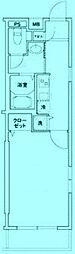 ブールヴァル鷺沼[4階]の間取り