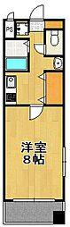 エンクレスト天神東II[7階]の間取り