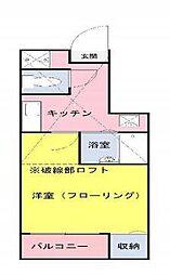 sakura一番館[101号室]の間取り
