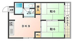 HOUSE2001[4階]の間取り