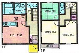[テラスハウス] 神奈川県横浜市戸塚区柏尾町 の賃貸【/】の間取り