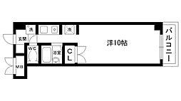 CASONA[311号室]の間取り