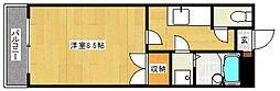 WIN二日市[305号室号室]の間取り