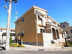 千葉県松戸市日暮8丁目の賃貸アパートの外観
