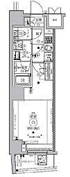 東京メトロ南北線 東大前駅 徒歩2分の賃貸マンション 3階1Kの間取り