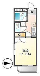 愛知県名古屋市千種区千種通7丁目の賃貸マンションの間取り