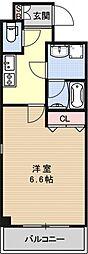 アスヴェル京都二条駅前[401号室号室]の間取り