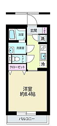 J・ワザック小石川[1階]の間取り