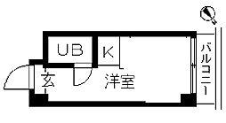 TOPROOM・横浜[0505号室]の間取り