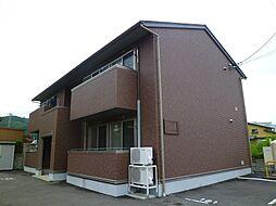 長野県岡谷市天竜町1丁目の賃貸アパートの外観