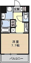 ベラジオ京都駅東[308号室号室]の間取り