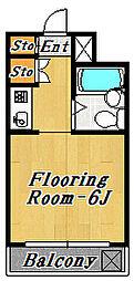 グラッツェ[5階]の間取り