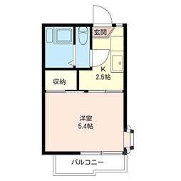 サンビーム[2階]の間取り