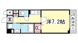 アルヴェアーレ[5階]の間取り